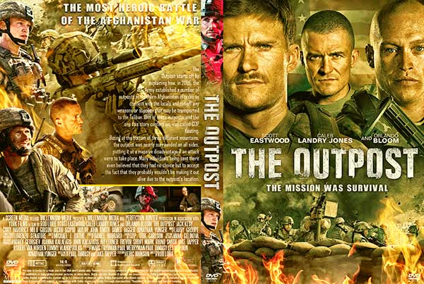 The Outpost (2020) DVD Cover