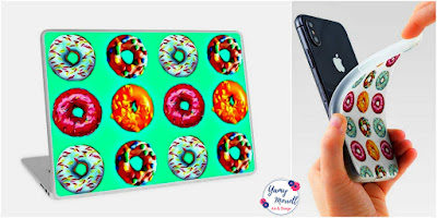 donuts-pattern-cases-skin--by-yamy-morrell