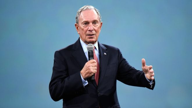 Bloomberg, billionaire ex-mayor of New York, eyes US presidency