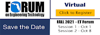 Fall 2021 Virtual ET Forum