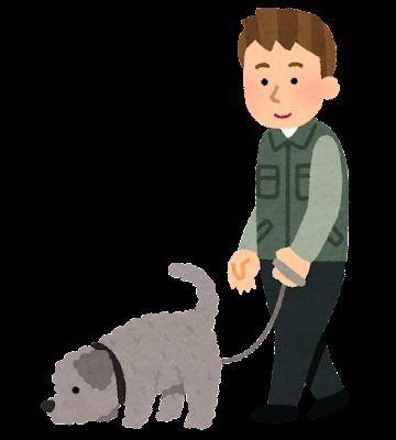 トリュフ犬のイラスト