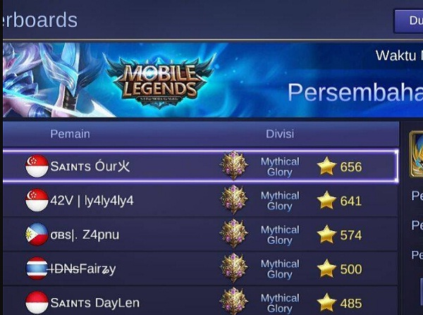 Cara Buat Nickname Mobile Legends