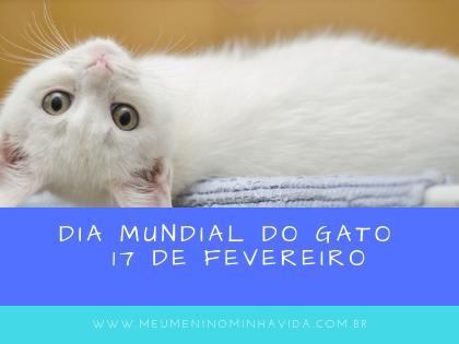 Dia Mundial do Gato - 17 de Fevereiro