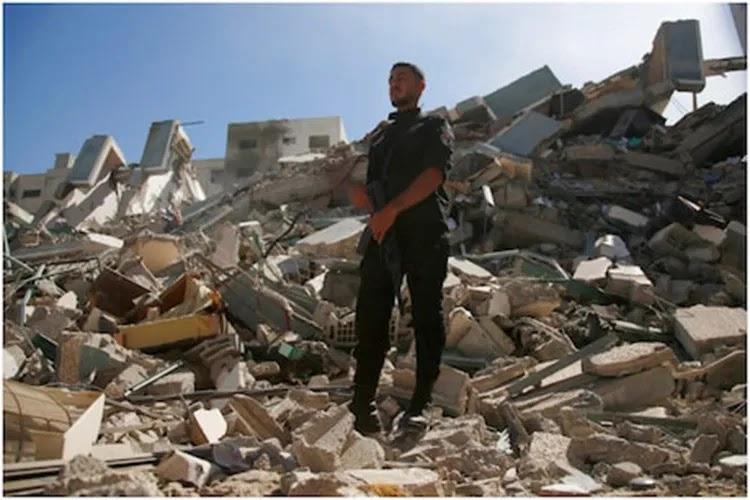 Israeli bombing of Hamas chief's house after Al Jazeera building