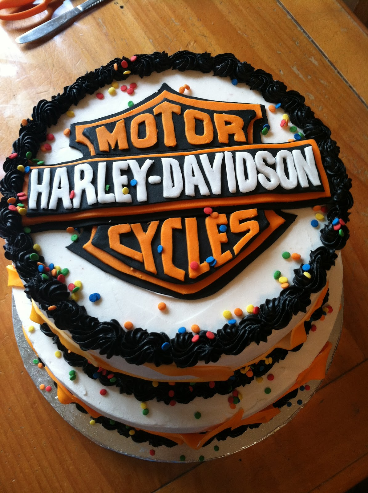 Introducing Harley Davidson Birthday Party For One Year Old Mekhi