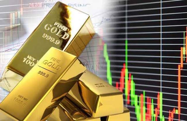 Harga emas berjangka berakhir lebih rendah untuk sesi kedua berturut-turut
