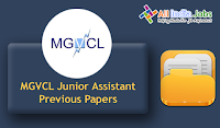 MGVCL Junior Assistant Previous Papers