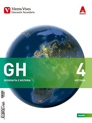 Libro Geografía e Historia 4º ESO Vicens Vives Aula 3D (Edición 2016)