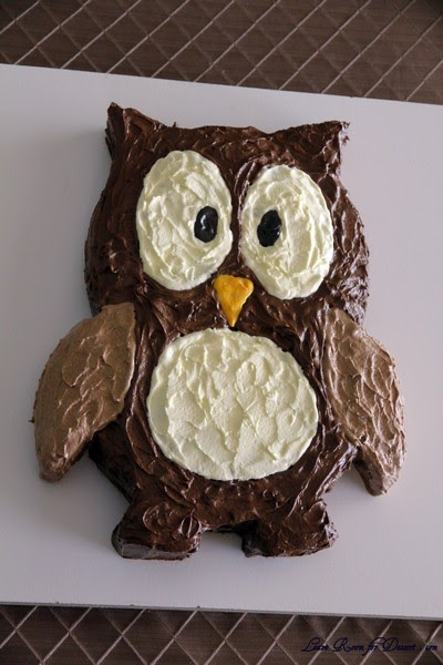 Lindsay Lou S Happenings Owl Cake