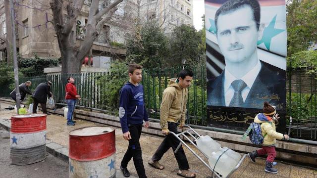 Terroristas cortan el agua a los habitantes de Damasco en Siria
