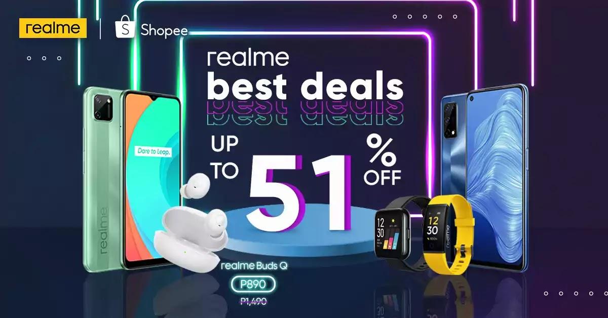 realme x Shopee 12.12 Big Christmas Sale