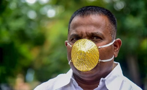Man Buys N1.5m Gold Face-mask To Save Him From Coronavirus