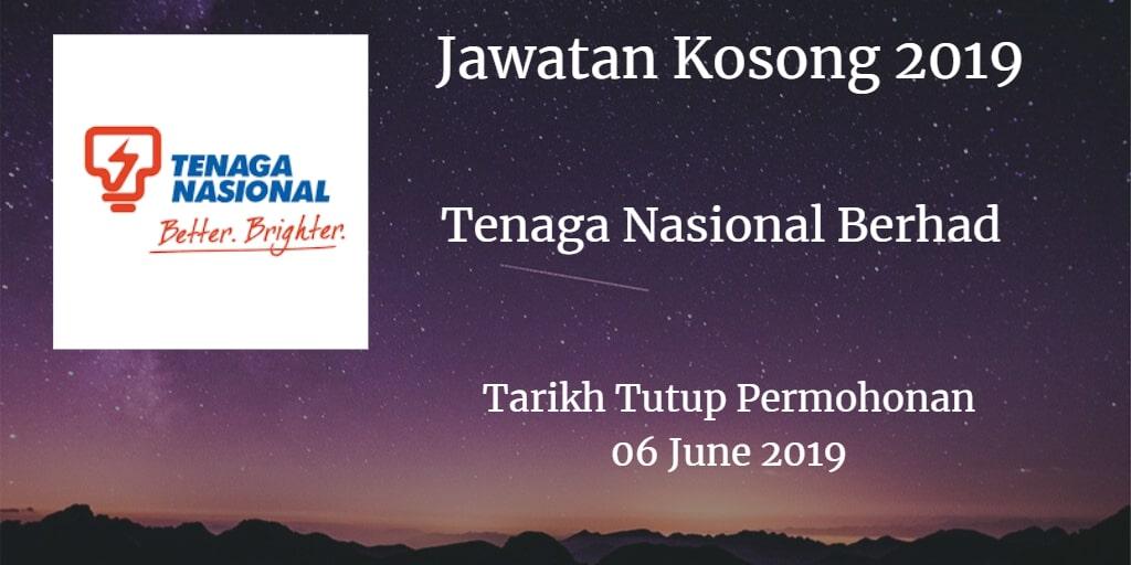 Jawatan Kosong TNB 06 June 2019