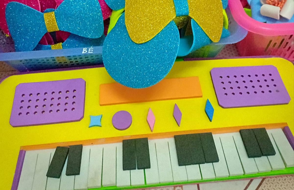 Bài thuyết trình đồ dùng dạy học môn âm nhạc mầm non