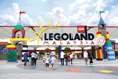 Wahana Lego City di Legoland Park Malaysia