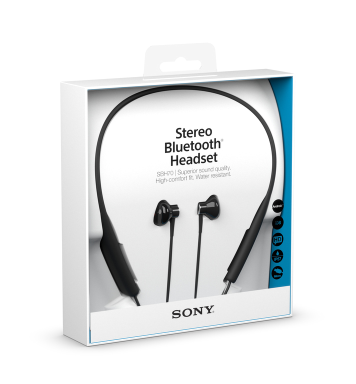 c826ed85987 Sony Mobile Unveils Water-Resistant Stereo Bluetooth® Headset SBH70,  Perfect for an Active Lifestyle
