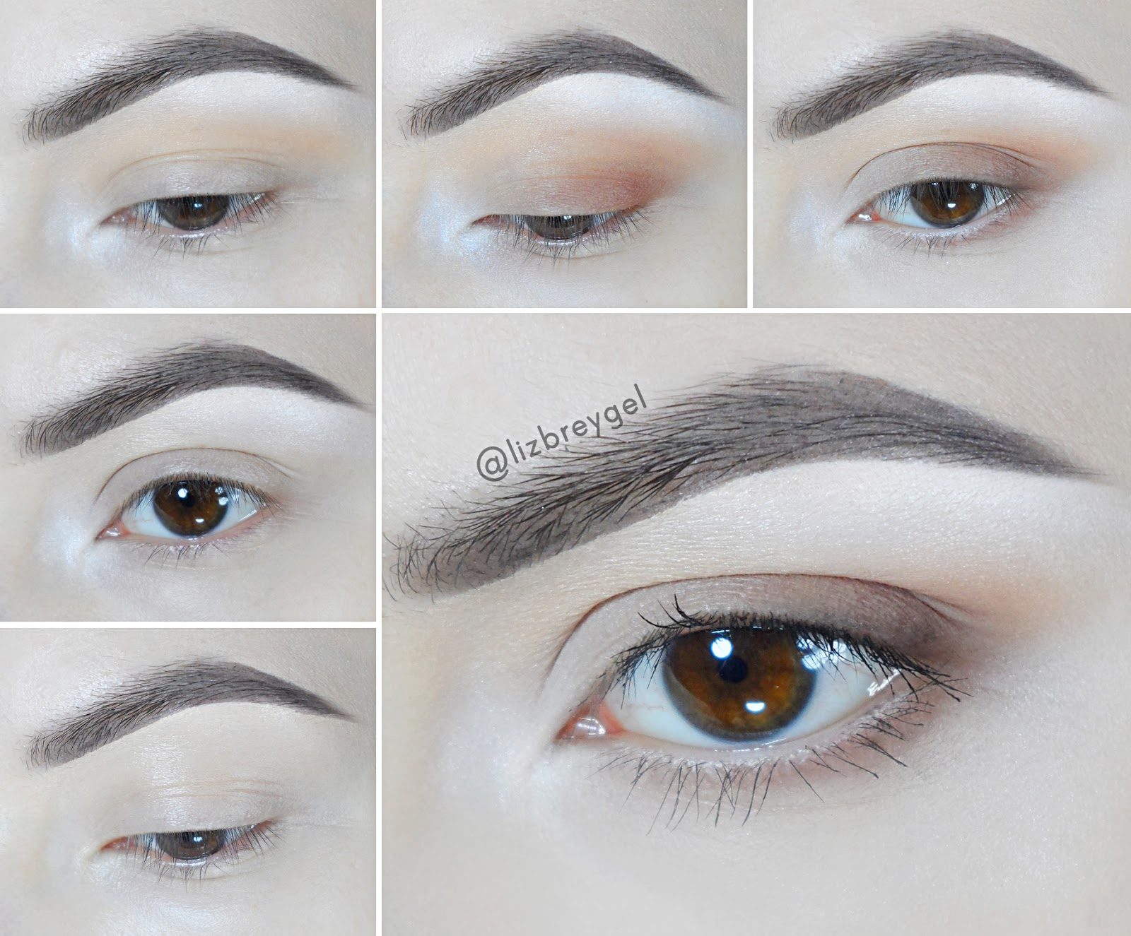 easy simple day everyday eye makeup for brown eyes matte eyeshadow janaury girl