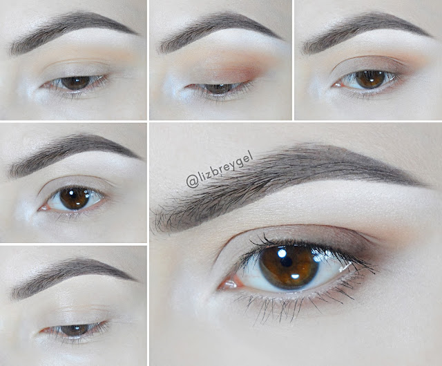 easy simple day everyday eye makeup for brown eyes matte eyeshadow janaury girl