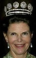 Sweden Six Button Tiara Queen Silvia