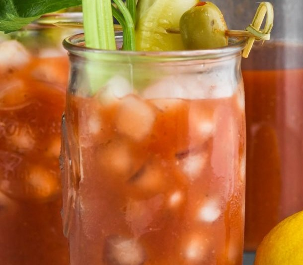 BLOODY MARY MIX #drinks #brunch