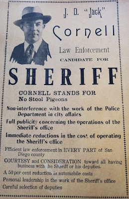 Jack Cornell for Sheriff San Diego