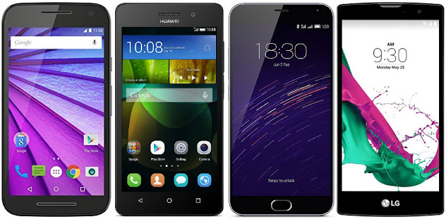 Mejores móviles Android de menos de 150 euros