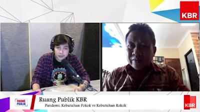 Talk show Ruang Publik KBR