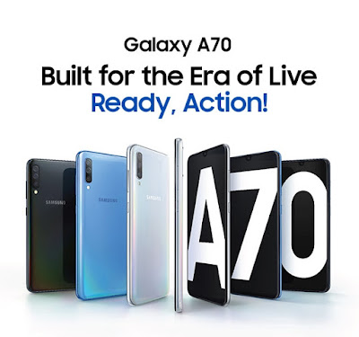 Samsung Galaxy A70 Phone Price in India