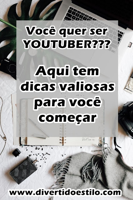 dicas para ser youtuber