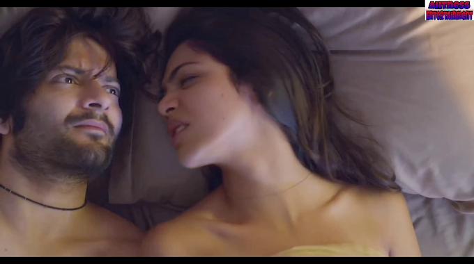 Shriya Pilgaonkar hot kissing scene - House Arrest (2020) HD 720p