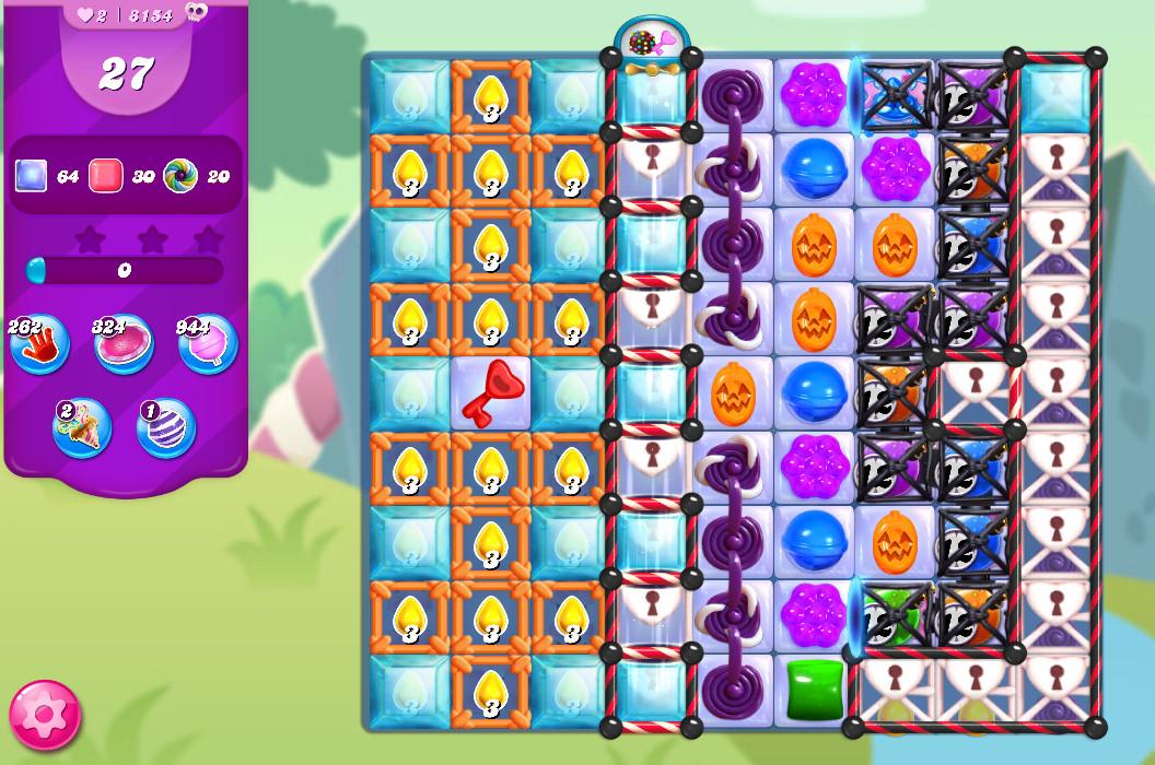 Candy Crush Saga level 8154