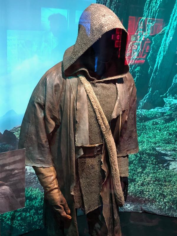 Star Wars Last Jedi Luke Skywalker costume
