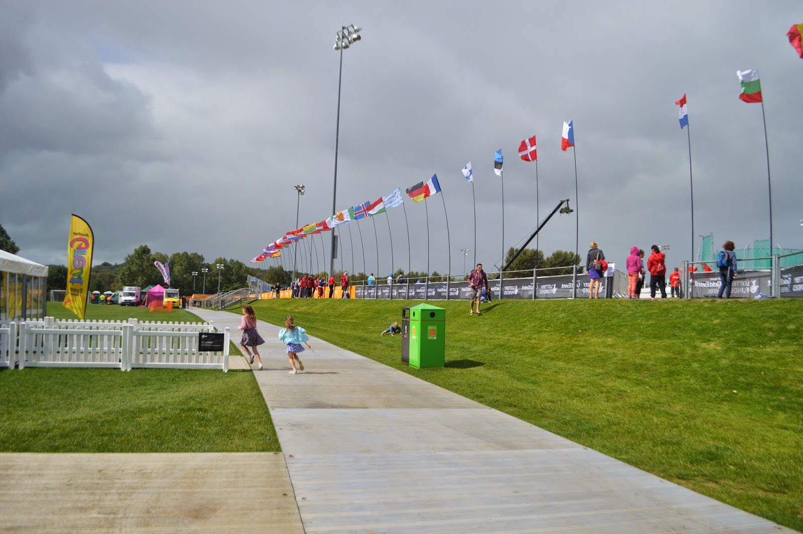 , When Dan met Discus Dan:  Our day at Swansea IPC European Championships 2014