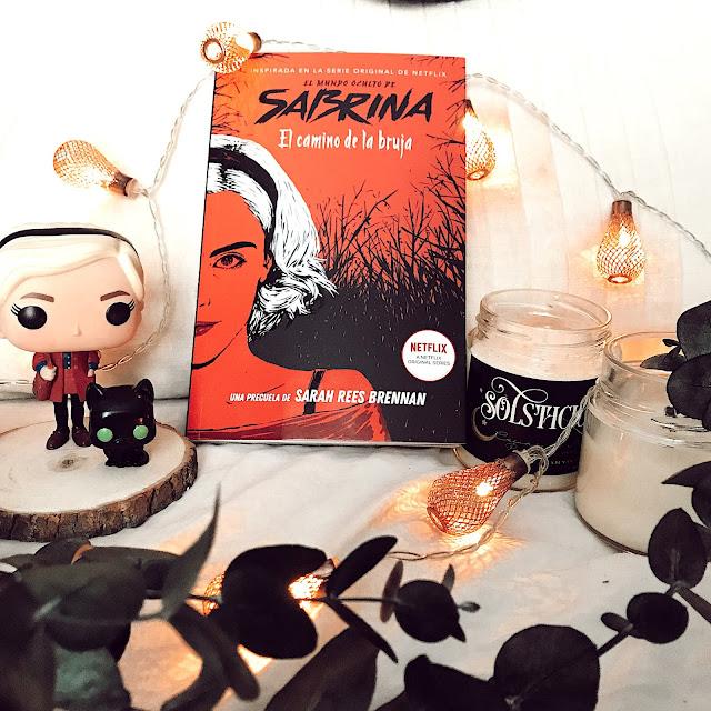 Reseña literaria; El mundo oculto de Sabrina: El camino de la bruja