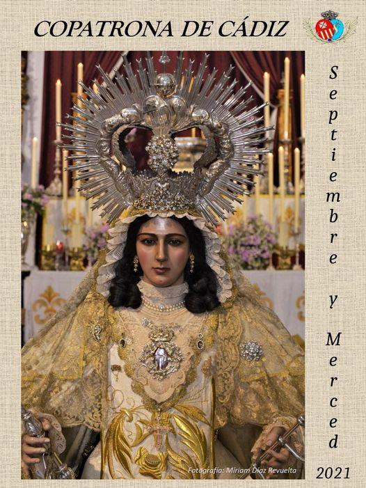 Cartel de la Ntra. Sra. de la Merced Cádiz 2021