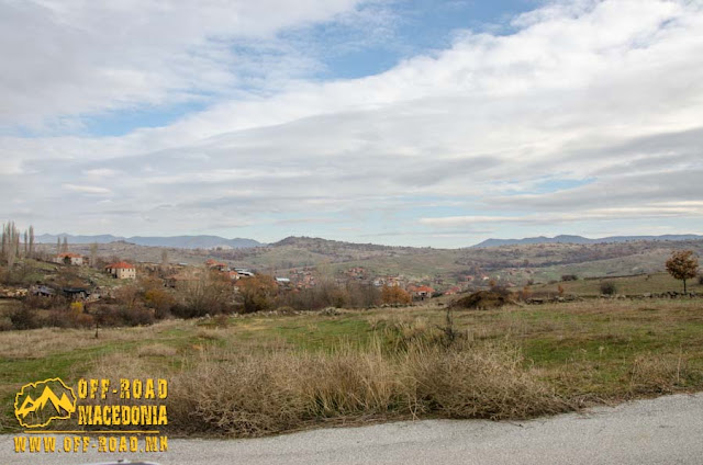 View toward Chanishte village, Mariovo region, Macedonia