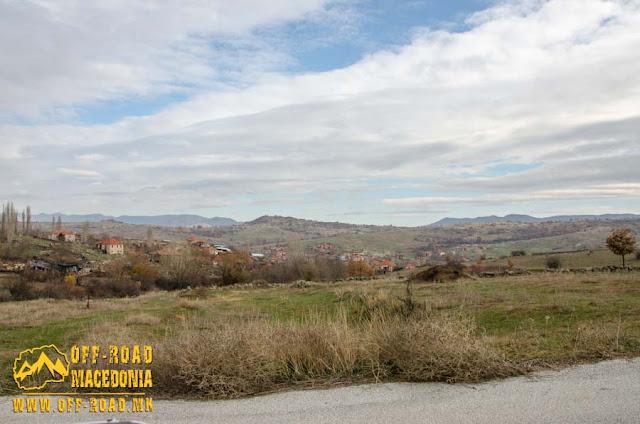 View toward Chanishte village, Mariovo region, Macedonia