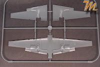 Messerschmitt Bf-110 G-4, Eduard, 1/72 scale model kit 7086