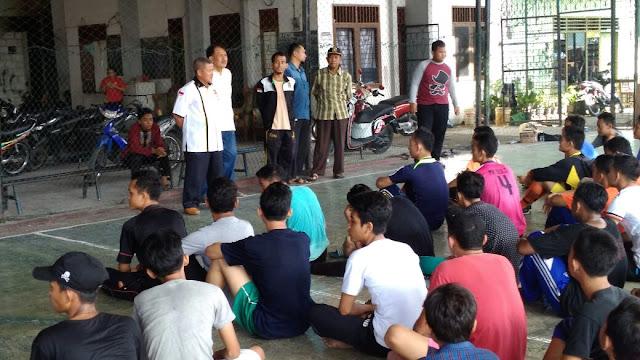 H. Jumadi Siap Fasilitasi Kegiatan Remaja Mesjid Yang Positif