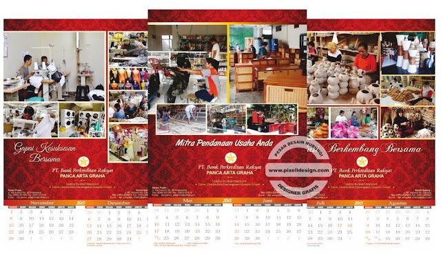 Iklan Kalender Bank