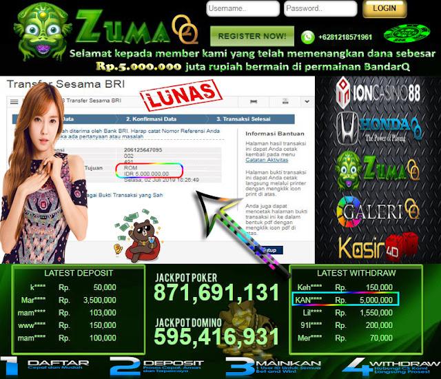 agen bandarq domino 99 bandar poker online terpercaya