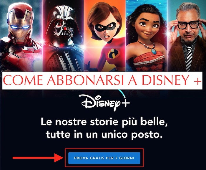 come abbonarsi a disney plus +