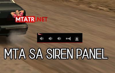 MTA SA Siren Panel