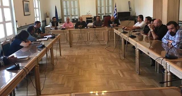 Συνάντηση Νίκα με τα Σωματεία Εργαζομένων της Μεγαλόπολης για το κλείσιμο μονάδων της ΔΕΗ