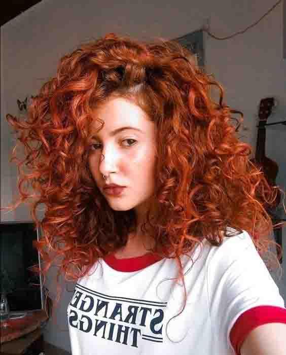 Inspirações de cabelos ruivos