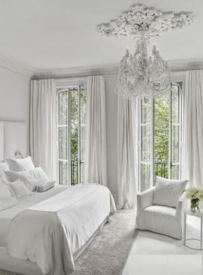 minimalistisches Dekorationsschlafzimmer