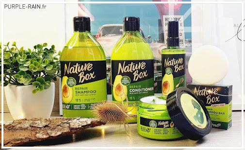 PurpleRain - Nature Box - La gamme nourrissante à l'Avocat