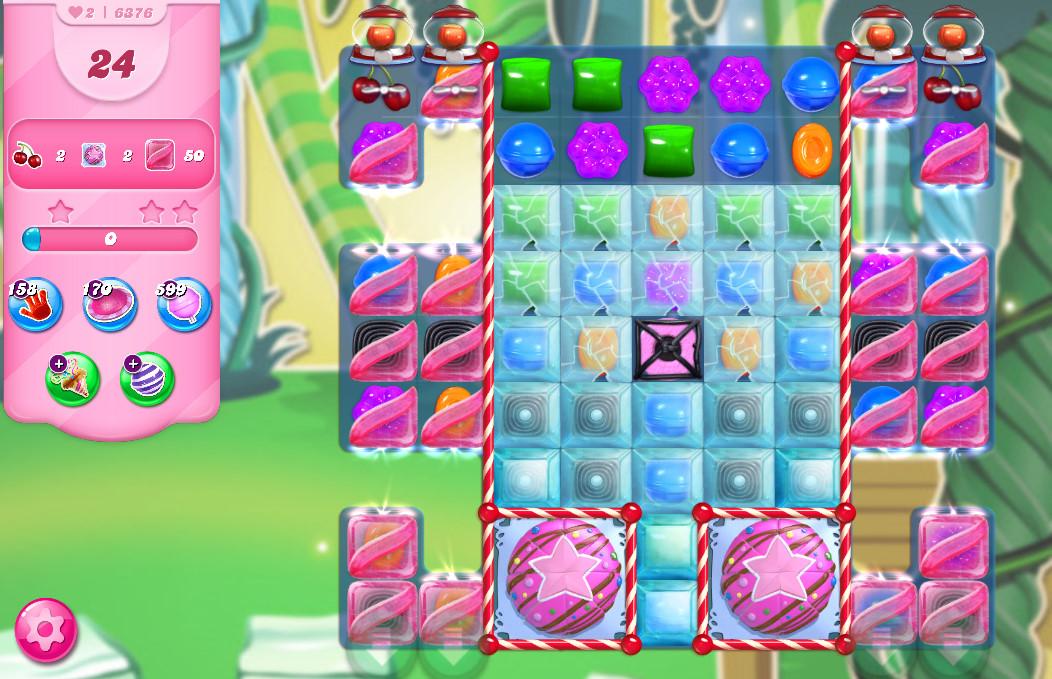Candy Crush Saga level 6376