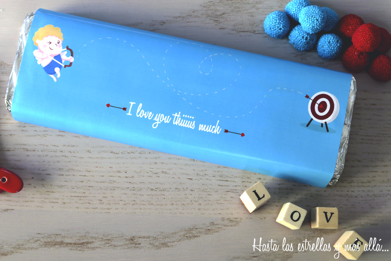 free printable valentine giant chocolate bar