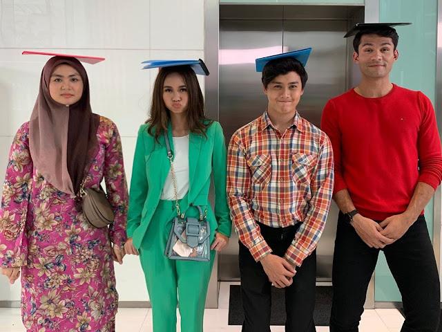 Tonton Drama Budak Intern TV9 & Viu Malaysia